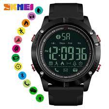 <b>SKMEI</b> Bluetooth <b>Men Smart</b> Watch Sports Watches 50M Waterproof ...