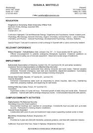 Resume Sample For Students With No Work Experience Resume Templates ...