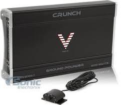 crunch gpv gpv w ground pounder monoblock amp crunch gpv 2100 1