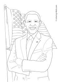 Monster Legends Coloring Pages With Barack Obama Coloring Pages For