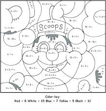 Top Rated Addition Coloring Pages Images Kindergarten Color By ...