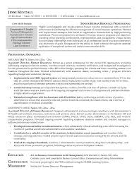 Human Resources Resume Examples | Resume Examples And Free Resume