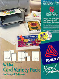 Avery Greeting Cards Details About New Avery 3200 American Greetings White Card Variety Pack 24 Cards16 Envelopes