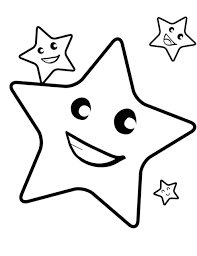 printable star star outline printable thebarnyard