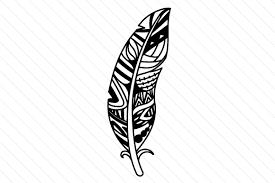 A zipped folder is a. Zentangle Feather Svg Cut File By Creative Fabrica Crafts Creative Fabrica