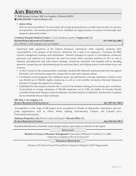Project Manager Resume Template Example Inspirational 42 Awesome