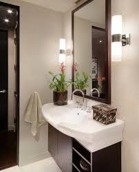 bathroom sconce lighting modern. Attractive Bathroom Wall Sconce And Modern Lighting View In Gallery A B