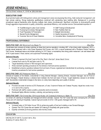 100 Sample Resume For Cooks Chef Resume Templates Resume