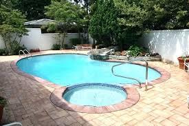 inground swim spa pool with spa swimming pool installs semi swim spa pool with spa cost of inground swim spa