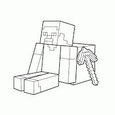25 Het Beste Minecraft Poppetje Steve Kleurplaat Mandala