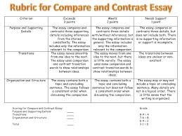 how to compare and contrast 9