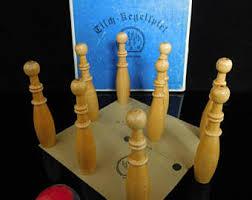 Skittles Wooden Board Game Table skittles Etsy 70