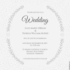 30 Wedding Invitation Layout Cafecanon Info