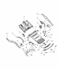 2014 dodge durango center rear floor pan diagram i2304979
