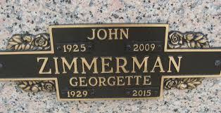Georgette Joseph Zimmerman (1929-2015) - Find A Grave Memorial