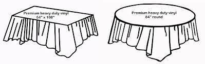 premium vinyl table cloths