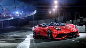 Sleek Red Sports Car Wallpaper : High ...