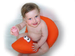 Shibaba Baby Bath Seat Ring Chair Tub Seats Babies Safety Bathing ...