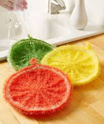 Red Heart Scrubby Pattern Magnificent Splash Of Citrus Scrubby Red Heart