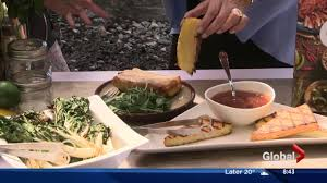 Blue Flame Kitchen Edmonton Lorraine On Location Part 4 Unusual Grilled Foods With Atco Blue