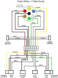 trailer hitch wiring diagram 7 pin also 7 way round pin trailer