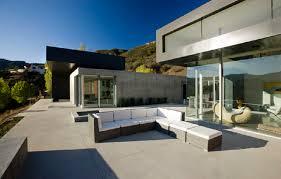 modern concrete patio. Various Options Of Concrete Patio Designs : Modern Terrace Sand Finish E