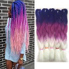 <b>Wholesale Price Ombre Synthetic</b> Kanekalon Braiding Hair For ...