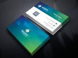 016 Professional Business Card Templates Ocean Corporate