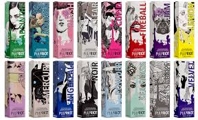 Pulp Riot Swatch Chart Pulp Riot Hair Professional Hair Color