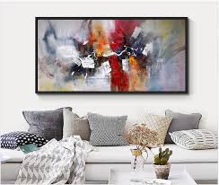 2017 100 hand painted large size abstract wall art canvas mural paintings pictures canvas picture