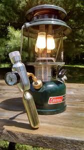 No Pumping With Mini Co2 Regulator Coleman Lanterns Camping Lamp