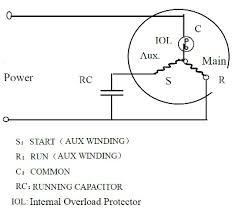 rorary compressor pa215m2cs r410a 5 3 kw shop wiring diagram schemat połączeń