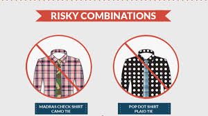 Pattern Shirt With Pattern Tie Best Decoration
