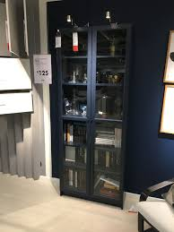 Bookcase Lighting Options Billy Bookcase In 2020 Bookcase Lighting Kitchen Display