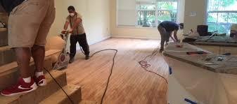 we refinish hardwood flooring