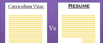 Resume Cv Meaning Best 238 Difference Between CV And Resume With Comparison Chart Key
