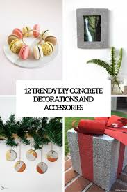trendy diy concrete decorations and accessories cover