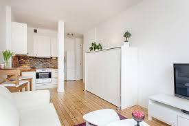 28 sqm studio in Stockholm with fresh interior design (1)