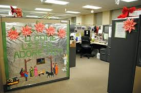 office cubicle christmas decorations. Delighful Decorations Creative Cubicle Decoration For Office Decorating  Cute O Christmas  Intended Office Cubicle Christmas Decorations