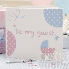 BABY SHOWER NEW BABY MESSAGE ADVICE GUEST BOOK GUESS GAME Twinkle Baby Shower Message Book
