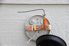 next grab the white wire from the light fixture and twist it together with the white wire from the wall twisting them together clockwise