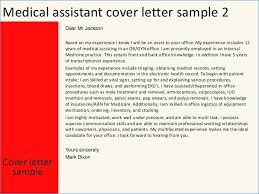 Medical Assistant Cover Letter Format Theunificationletters Com