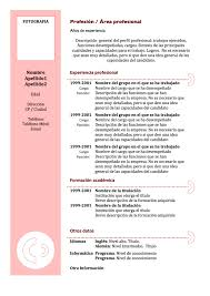 Charming Formato Curriculum Vitae Filetype Doc Photos Entry Level