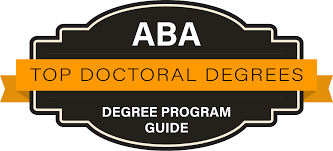 Phd Degree 10 Best Aba Phd Degree Programs 2018 Aba Degree Program Guide