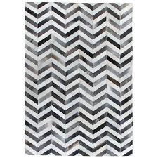 grey and white chevron rug exquisite rugs chevron hide grey white leather hair on hide rug grey and white chevron rug