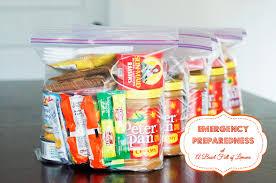 emergency preparedness week 2 food water