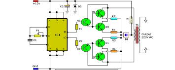 100w inverter circuit schematic circuit diagram circuitos 100w inverter circuit schematic circuit diagram