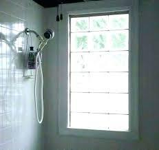 glass block window vent home depot glass block windows shower blocks for showers featuring walk in