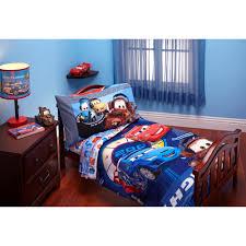 disney cars max rev 4 piece toddler bed bedding set