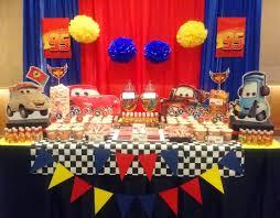 Cars Party Decorations Floyd Cedrics Disney Cars 7th Birthday Partyvenue City Garden